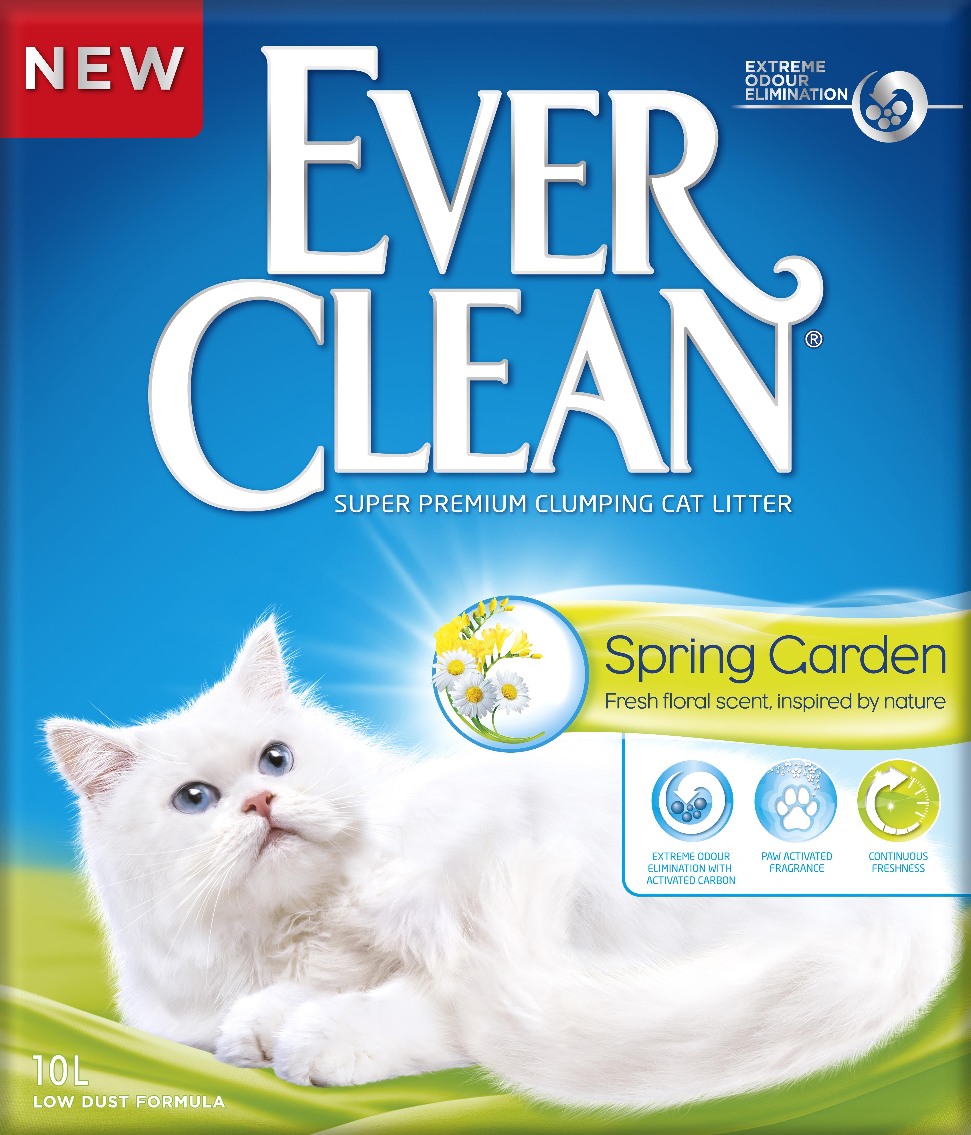 Kattsand Ever Clean Spring Garden, 10 l