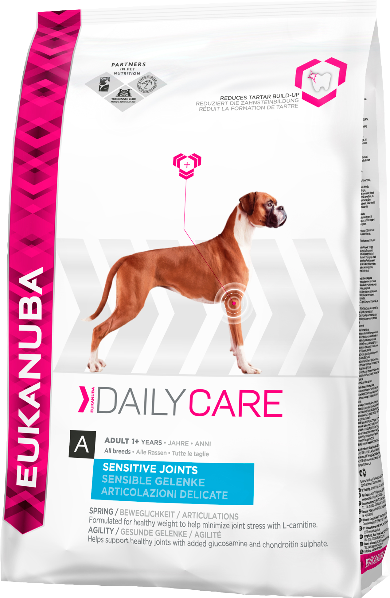 Hundfoder Eukanuba Everyday Adult 1+ Sensitive Joints, 12,5 kg