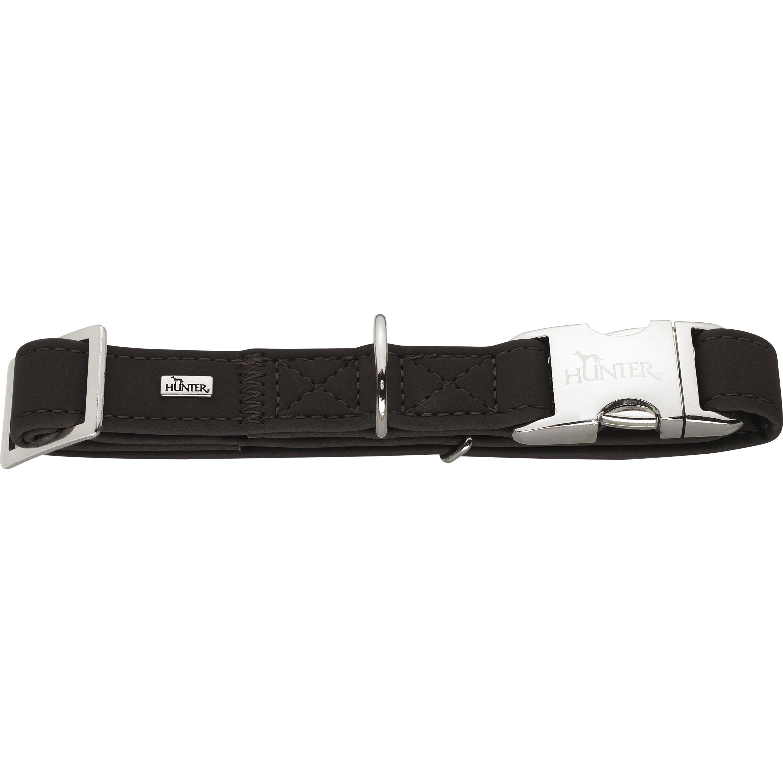 Hundhalsband Hunter Softie, Brun S 30-45 cm