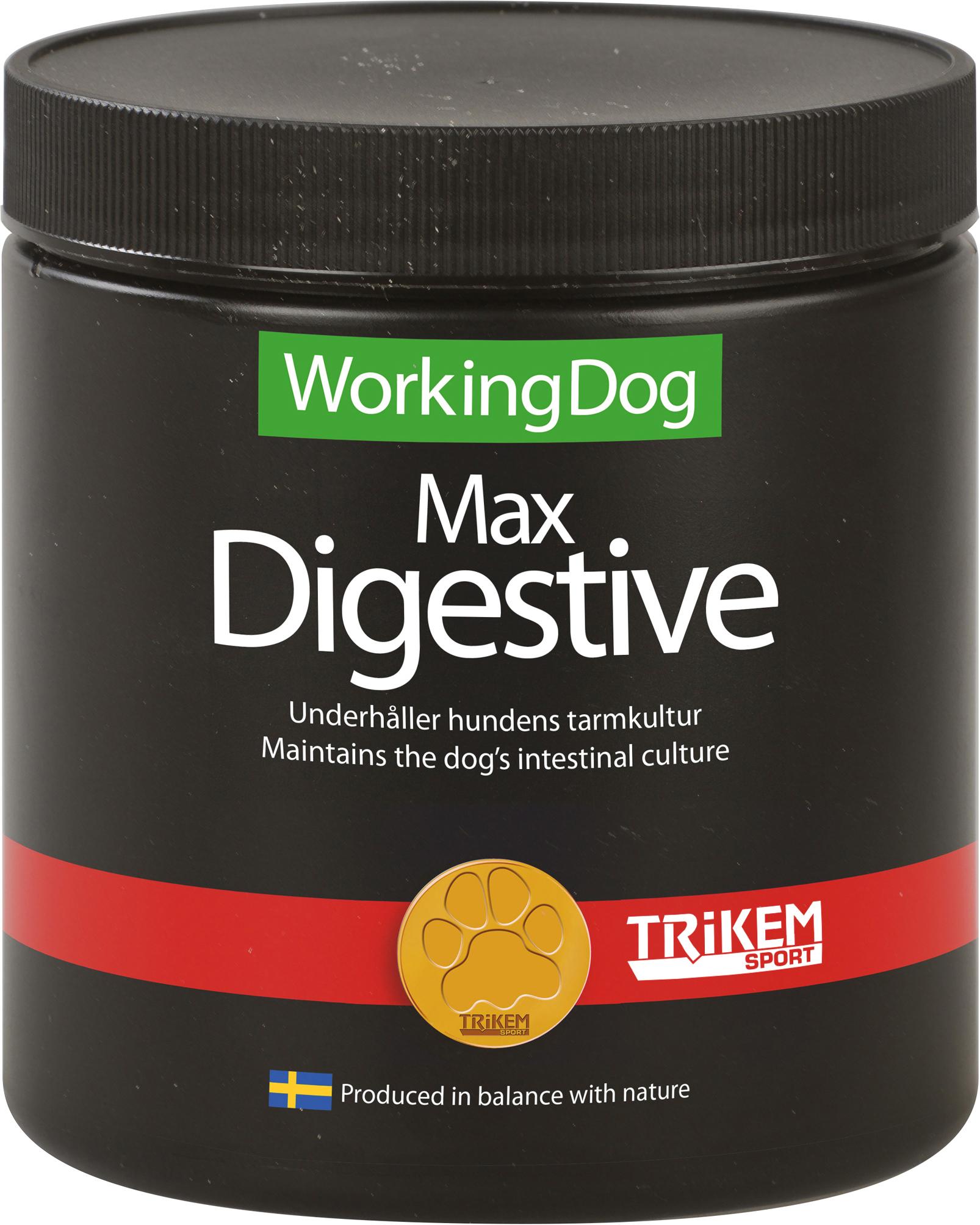 Tillskott Trikem WorkingDog Max Digestive, 600 g