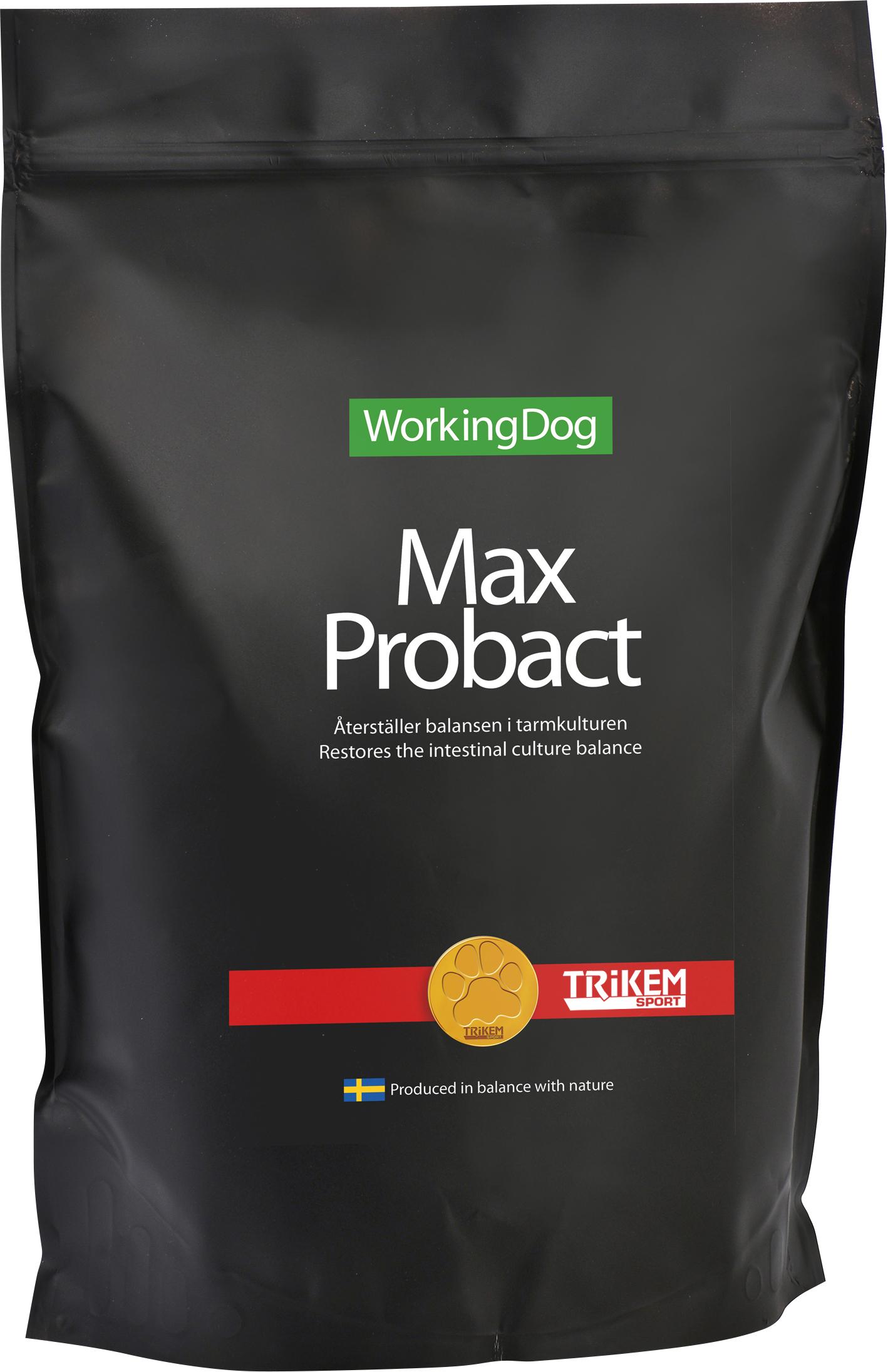 Tillskott Trikem WorkingDog Max Probact, 6 x 10 g