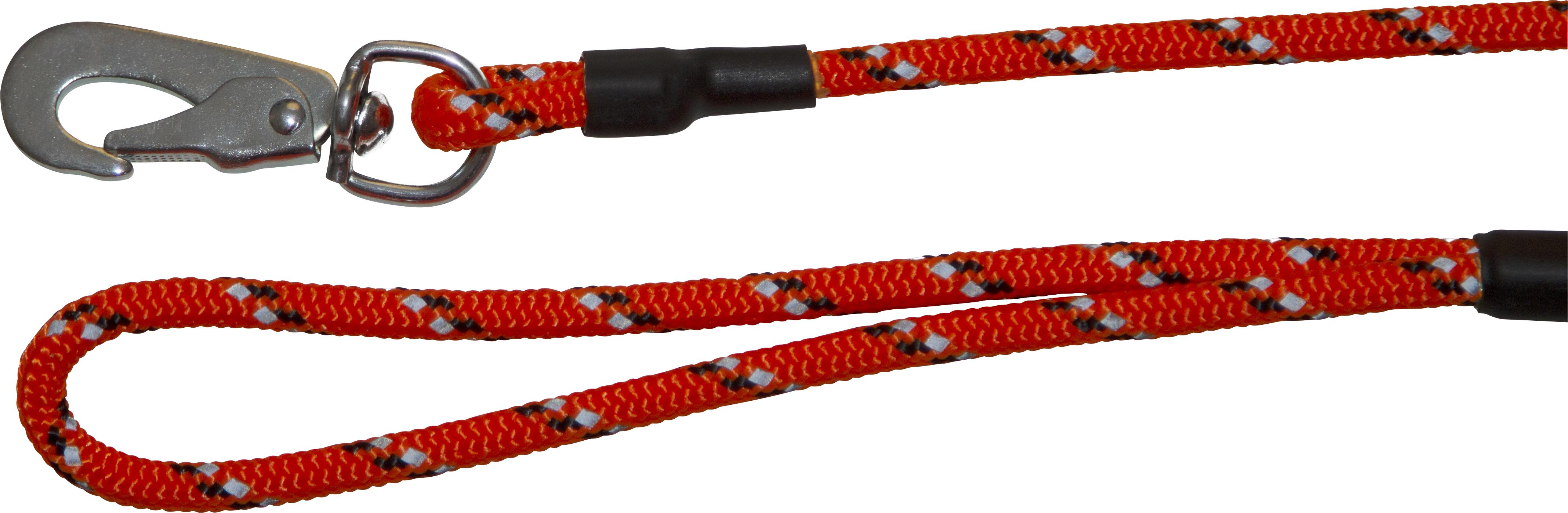 Hundkoppel Pritax Reflex, Orange