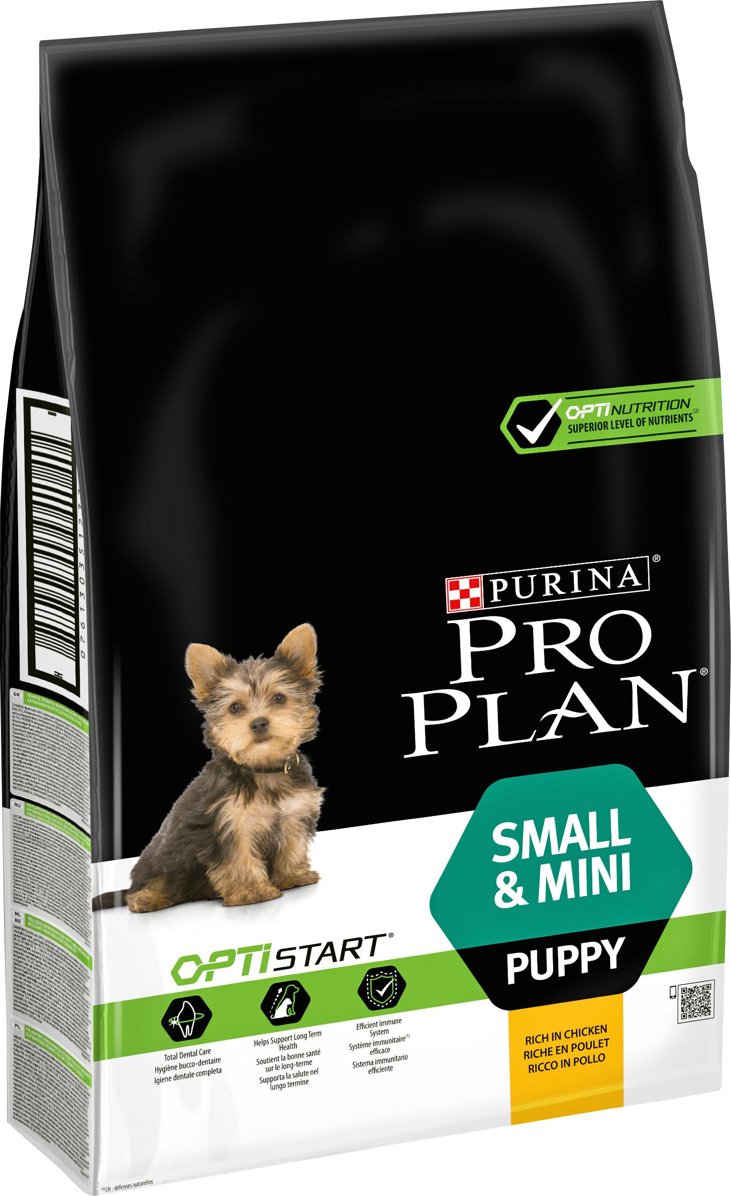 Hundfoder Pro Plan Small & Mini Puppy, 7 kg