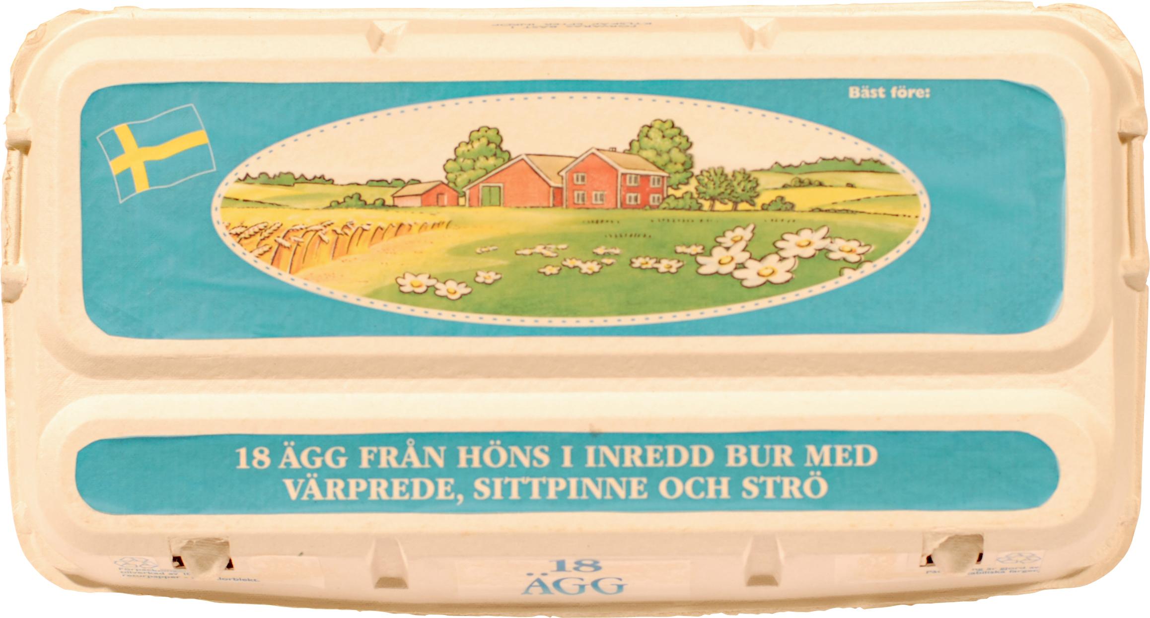 Äggkartong 18-pack, 50 st