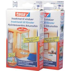Insektsnät till fönster Tesa, Vit 1300 x 1300 mm. 1-pack