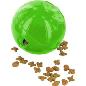Foderboll Katt PetSafe Slimcat Grön