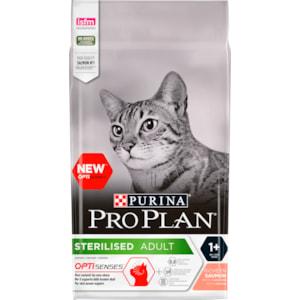 Kattmat Purina Pro Plan Sterilised Optisenses Salmon, 3 kg