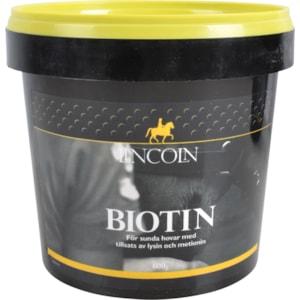 Fodertillskott Lincoln Biotin, 600 g