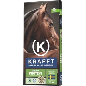 Hästfoder Krafft Groov Protein, 20 kg