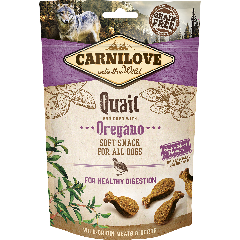 Hundgodis Carnilove Semi Moi Snack Vaktel, 200 g